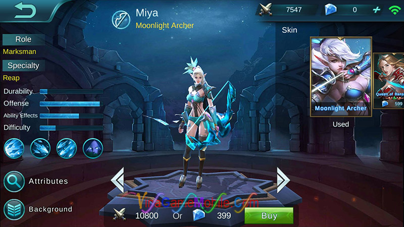Miya Mobile Legends