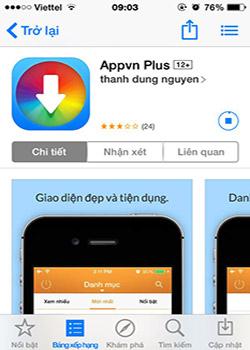 Tải AppVN - Cách Download AppVN Miễn Phí Về Máy Cho Điện Thoại