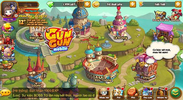 GunGun Mobile game kinh điển của các tượng đài trên PC như Gunbound, Gunny, iGà Tai-game-gungun-mobile-cho-android-ios-03