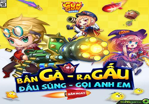 GunGun Mobile game kinh điển của các tượng đài trên PC như Gunbound, Gunny, iGà Tai-game-gungun-mobile-cho-android-ios-04